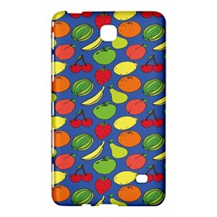 Fruit Melon Cherry Apple Strawberry Banana Apple Samsung Galaxy Tab 4 (8 ) Hardshell Case  by Mariart