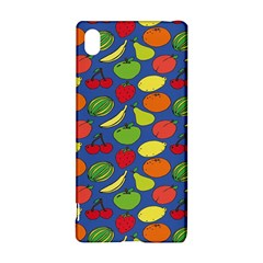 Fruit Melon Cherry Apple Strawberry Banana Apple Sony Xperia Z3+ by Mariart