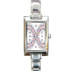 Free Symbol Hands Rectangle Italian Charm Watch by Mariart