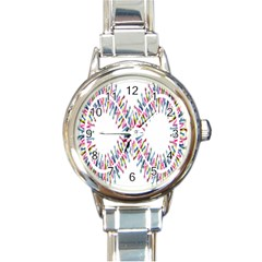 Free Symbol Hands Round Italian Charm Watch by Mariart