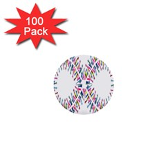 Free Symbol Hands 1  Mini Buttons (100 Pack)  by Mariart