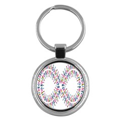 Free Symbol Hands Key Chains (round)  by Mariart