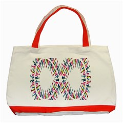 Free Symbol Hands Classic Tote Bag (red) by Mariart
