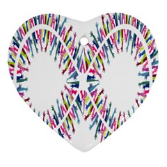 Free Symbol Hands Heart Ornament (two Sides) by Mariart