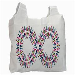 Free Symbol Hands Recycle Bag (two Side)  by Mariart