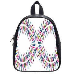 Free Symbol Hands School Bag (small) by Mariart