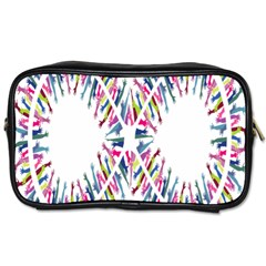 Free Symbol Hands Toiletries Bags 2 Side by Mariart