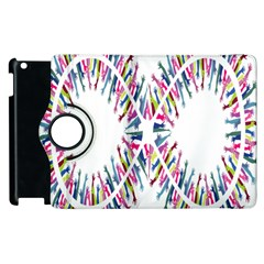 Free Symbol Hands Apple Ipad 3/4 Flip 360 Case by Mariart