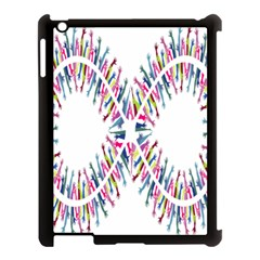 Free Symbol Hands Apple Ipad 3/4 Case (black) by Mariart