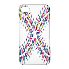 Free Symbol Hands Apple Iphone 4/4s Hardshell Case With Stand by Mariart