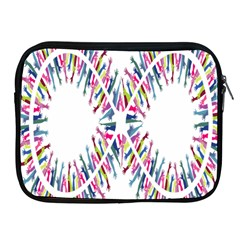 Free Symbol Hands Apple Ipad 2/3/4 Zipper Cases by Mariart