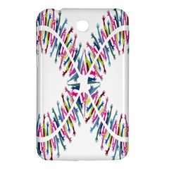 Free Symbol Hands Samsung Galaxy Tab 3 (7 ) P3200 Hardshell Case  by Mariart