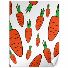 Fruit Vegetable Carrots Canvas 36  X 48   by Mariart