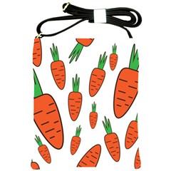 Fruit Vegetable Carrots Shoulder Sling Bags by Mariart