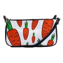 Fruit Vegetable Carrots Shoulder Clutch Bags by Mariart