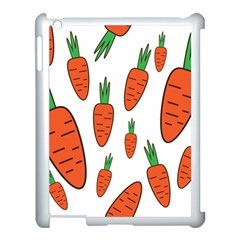Fruit Vegetable Carrots Apple Ipad 3/4 Case (white) by Mariart