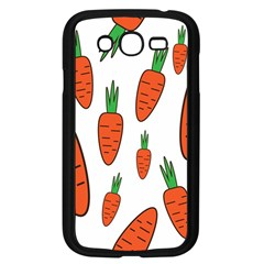 Fruit Vegetable Carrots Samsung Galaxy Grand Duos I9082 Case (black) by Mariart