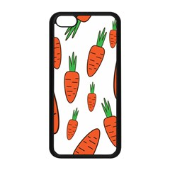 Fruit Vegetable Carrots Apple Iphone 5c Seamless Case (black) by Mariart
