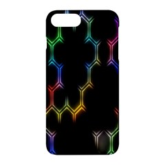 Grid Light Colorful Bright Ultra Apple Iphone 7 Plus Hardshell Case by Mariart