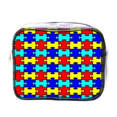 Game Puzzle Mini Toiletries Bags by Mariart