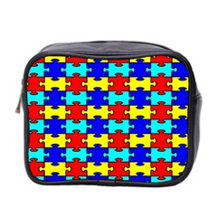 Game Puzzle Mini Toiletries Bag 2 Side by Mariart
