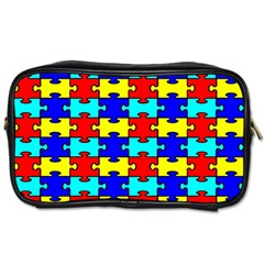 Game Puzzle Toiletries Bags 2 Side by Mariart