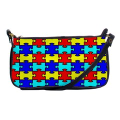 Game Puzzle Shoulder Clutch Bags