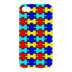 Game Puzzle Apple Iphone 4/4s Hardshell Case by Mariart