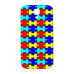 Game Puzzle Samsung Galaxy S4 I9500/i9505  Hardshell Back Case by Mariart