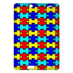 Game Puzzle Amazon Kindle Fire Hd (2013) Hardshell Case by Mariart