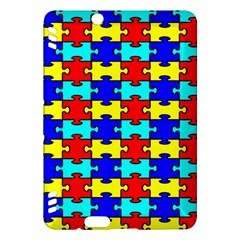 Game Puzzle Kindle Fire Hdx Hardshell Case by Mariart