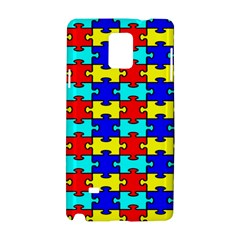Game Puzzle Samsung Galaxy Note 4 Hardshell Case by Mariart