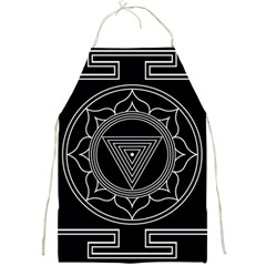 Kali Yantra Inverted Full Print Aprons by Mariart