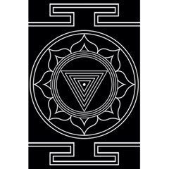 Kali Yantra Inverted 5 5  X 8 5  Notebooks by Mariart