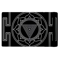 Kali Yantra Inverted Apple Ipad 3/4 Flip Case by Mariart