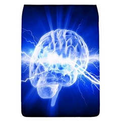 Lightning Brain Blue Flap Covers (s)  by Mariart