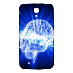 Lightning Brain Blue Samsung Galaxy Mega I9200 Hardshell Back Case by Mariart