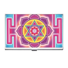Kali Yantra Inverted Rainbow Business Card Holders by Mariart