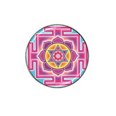 Kali Yantra Inverted Rainbow Hat Clip Ball Marker (10 Pack) by Mariart