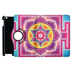 Kali Yantra Inverted Rainbow Apple Ipad 2 Flip 360 Case by Mariart