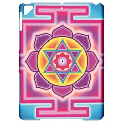 Kali Yantra Inverted Rainbow Apple Ipad Pro 9 7   Hardshell Case by Mariart