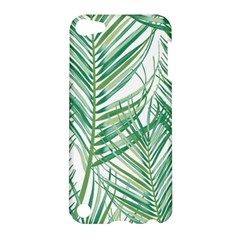 Jungle Fever Green Leaves Apple Ipod Touch 5 Hardshell Case by Mariart
