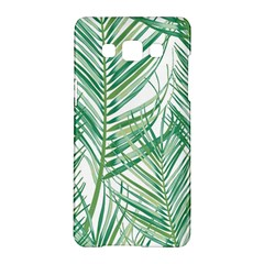 Jungle Fever Green Leaves Samsung Galaxy A5 Hardshell Case  by Mariart