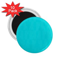 Line Blue 2 25  Magnets (10 Pack)  by Mariart