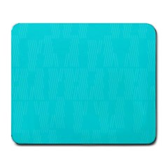 Line Blue Large Mousepads by Mariart