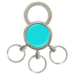 Line Blue 3 Ring Key Chains by Mariart
