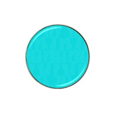 Line Blue Hat Clip Ball Marker by Mariart