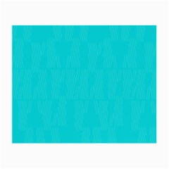 Line Blue Small Glasses Cloth by Mariart