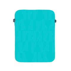 Line Blue Apple Ipad 2/3/4 Protective Soft Cases by Mariart