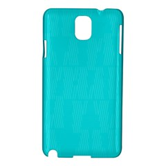 Line Blue Samsung Galaxy Note 3 N9005 Hardshell Case by Mariart